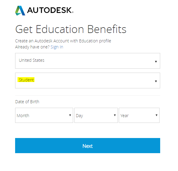 Autodesk Download Instructions